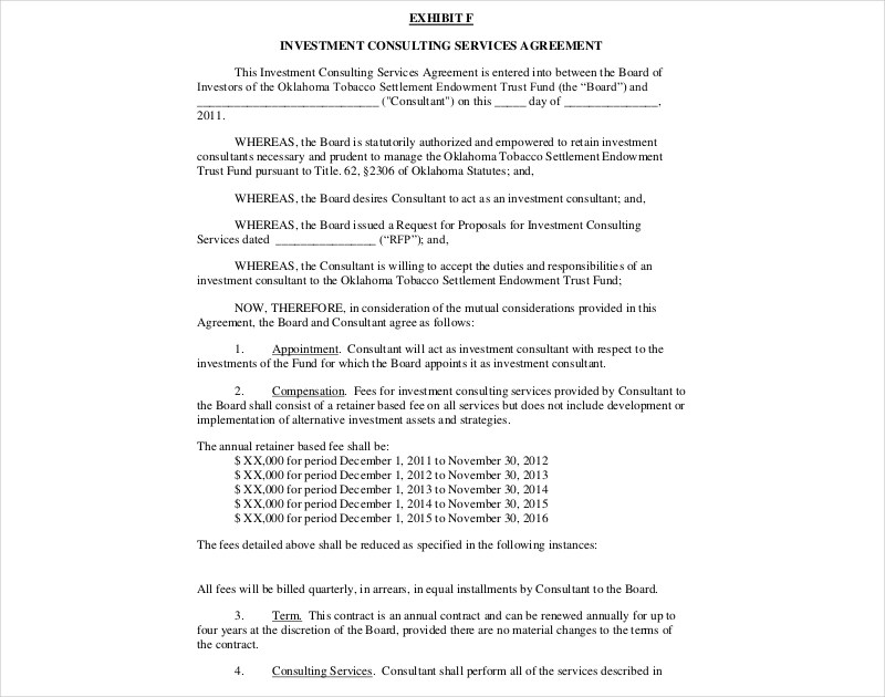 16+ Consulting Agreement Examples - PDF, DOC