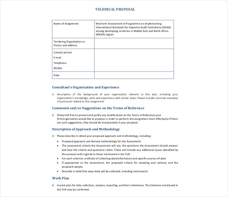 it service proposal template