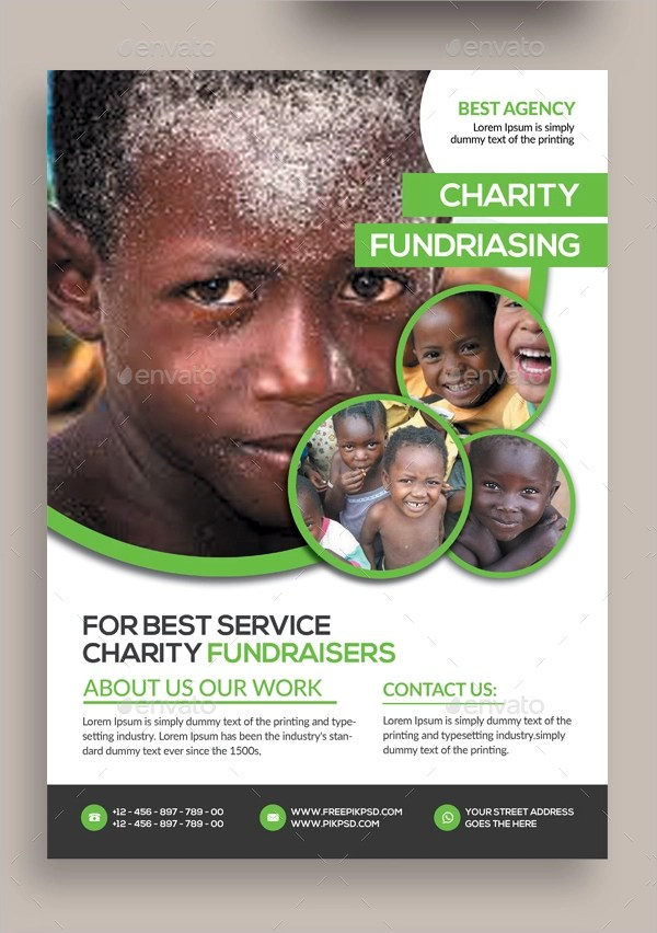 15+ Donation Flyer Designs  Examples \u2013 PSD, AI