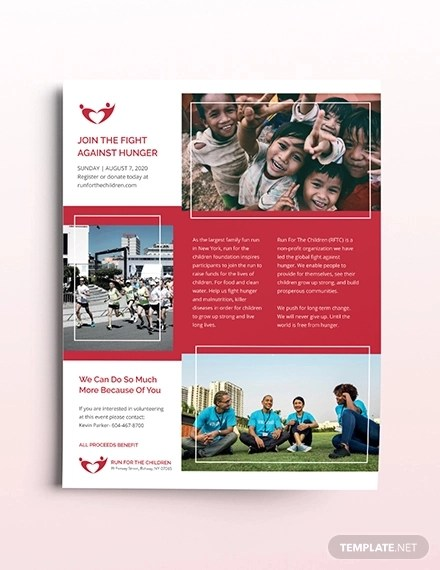24+ Charity Flyer Examples  Role of Flyers - Word, PSD, AI, EPS