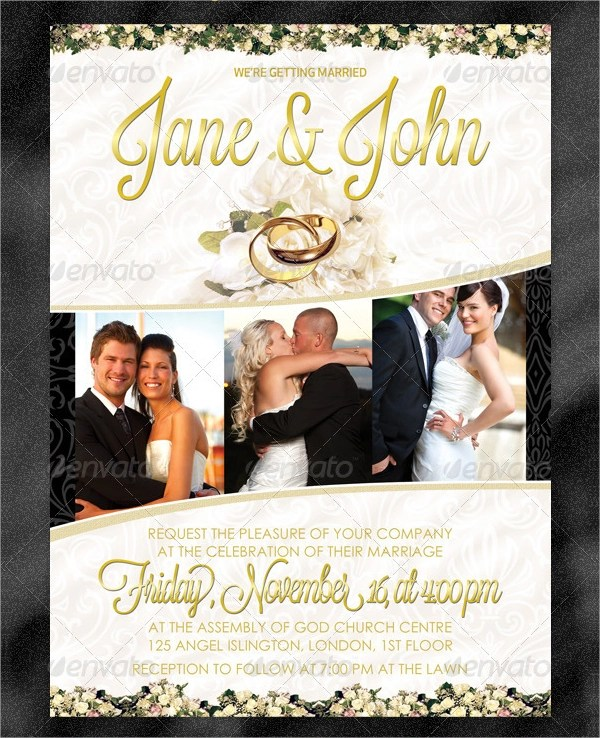 15+ Wedding Flyer Designs  Examples \u2013 PSD, AI - wedding flyer