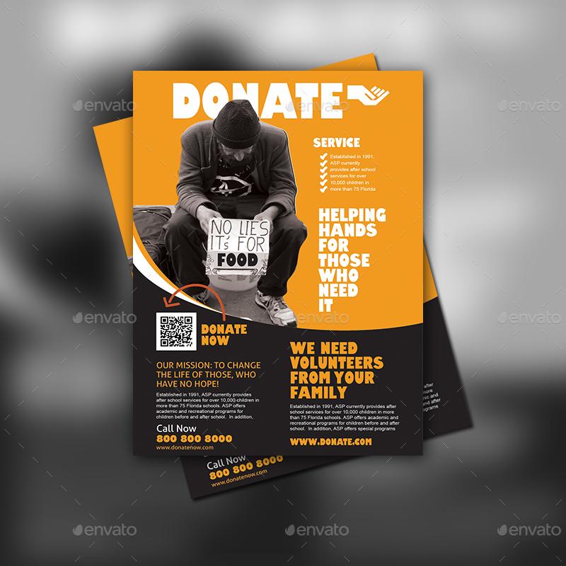 donation flyer ideas