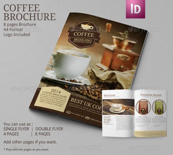 12+ Coffee Shop Brochure Examples - PSD, AI