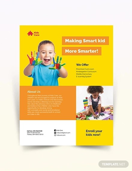 17+ Babysitting Flyer Designs  Examples \u2013 PSD, AI, Word, EPS Vector