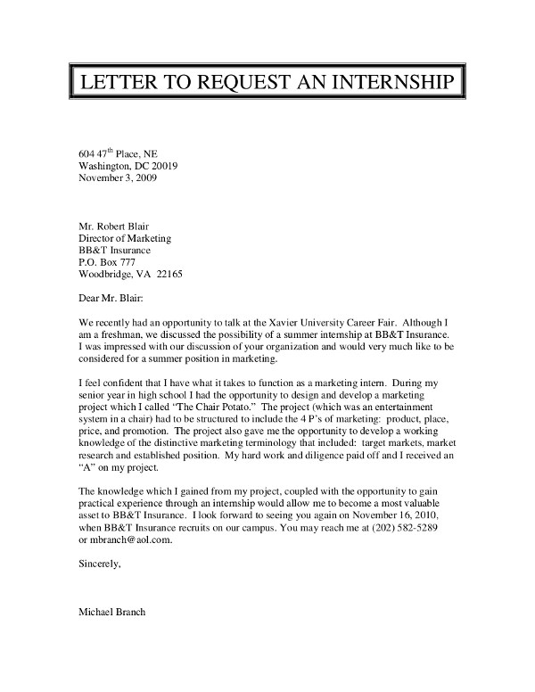 7+ Formal Letters Examples For Students in PDF