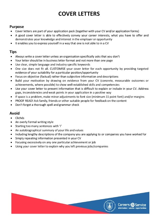 9+ Simple Cover Letter Examples - PDF - simple cover letters