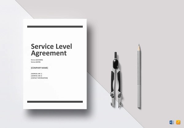 14+ Service Level Agreement Examples - DOC, PDF - service level agreement template