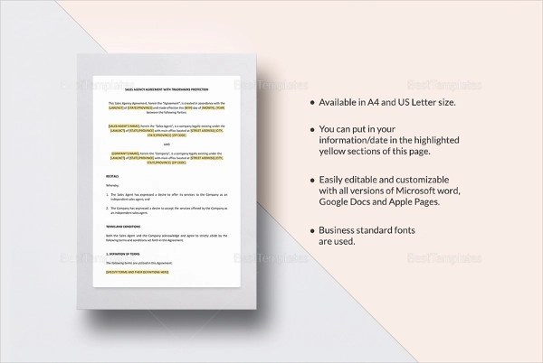 12+ Sales Agency Agreement Examples - PDF, DOC