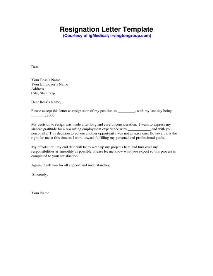 Writing a Heartfelt Resignation Letters in PDF Examples