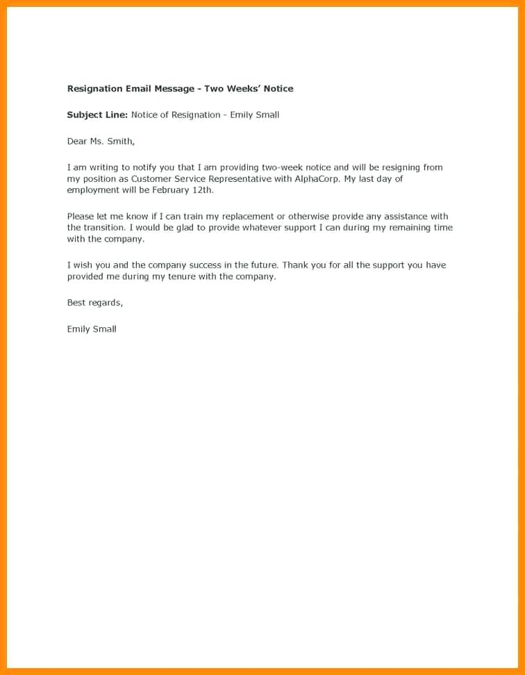 Writing a Heartfelt Resignation Letters in PDF - letter of resignation examples