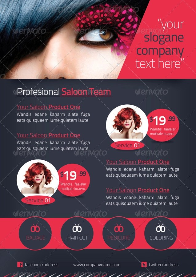 18+ Beauty Salon Brochures Designs and Examples - PSD, AI Examples
