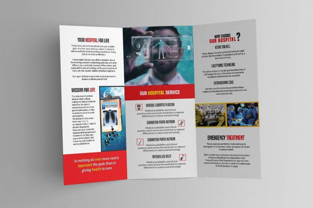 18+ Pharmacy Brochures Designs and Examples - PSD, AI - sample broucher