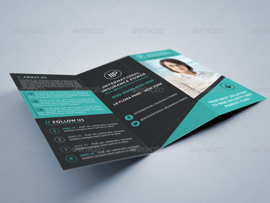 16+ Business Trifold Brochure Designs and Examples - PSD, AI - tri fold business brochure