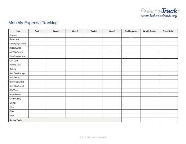 monthly tracking sheet - Onwebioinnovate - tracking sheet template