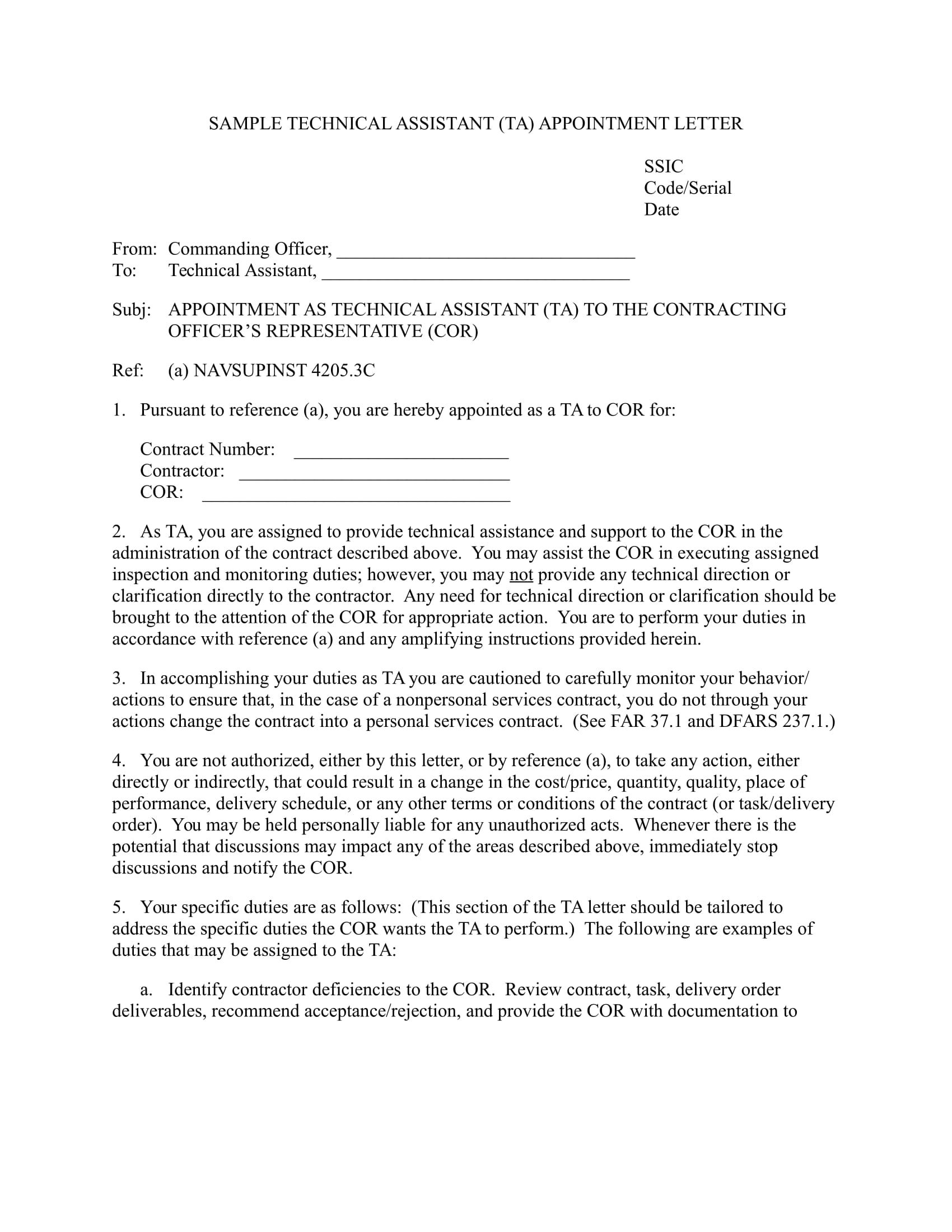 teaching assistant cover letter examples