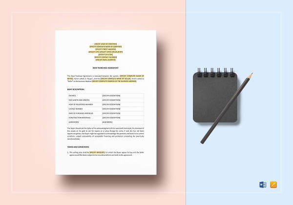 12+ Purchase Agreement Examples - PDF