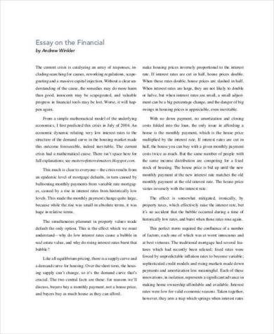 32+ Essay Examples in PDF