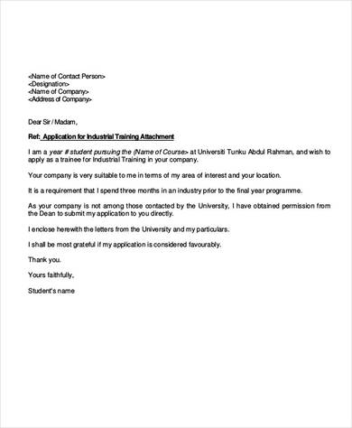 43+ Proposal Letter Examples  Samples - PDF, DOC - training proposal letter