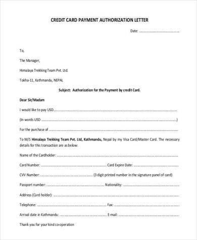 48+ Authorization Letter Examples - PDF, DOC