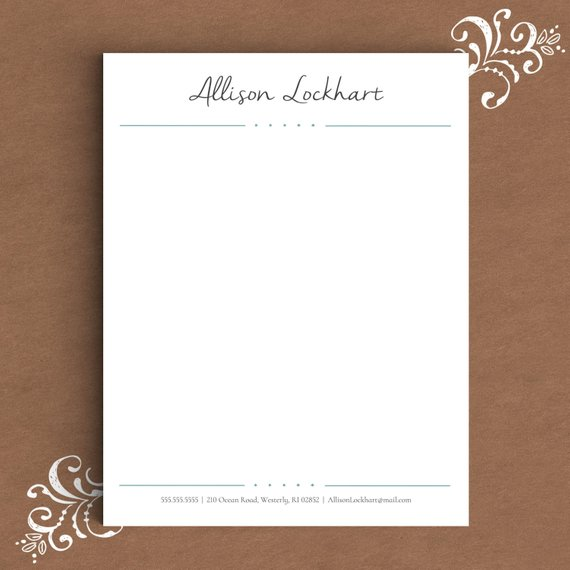 12+ Professional Letterhead Designs and Examples - PSD, AI