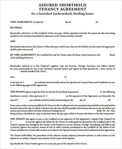 9+ Commercial Tenancy Agreement Examples - PDF - format of lease agreement