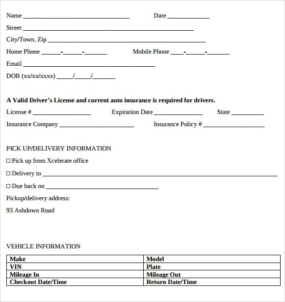 rental lease agreement template microsoft word - Alan - lease contract format