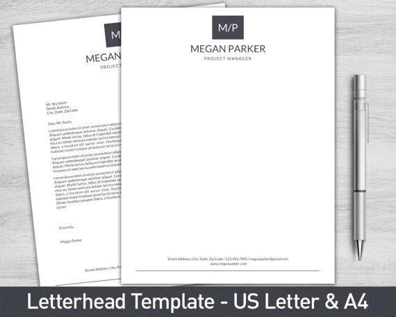 19+ Personal Letterhead Examples - PSD, AI Examples