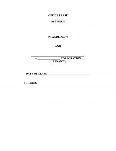 14+ Commercial Lease Agreement Examples - PDF