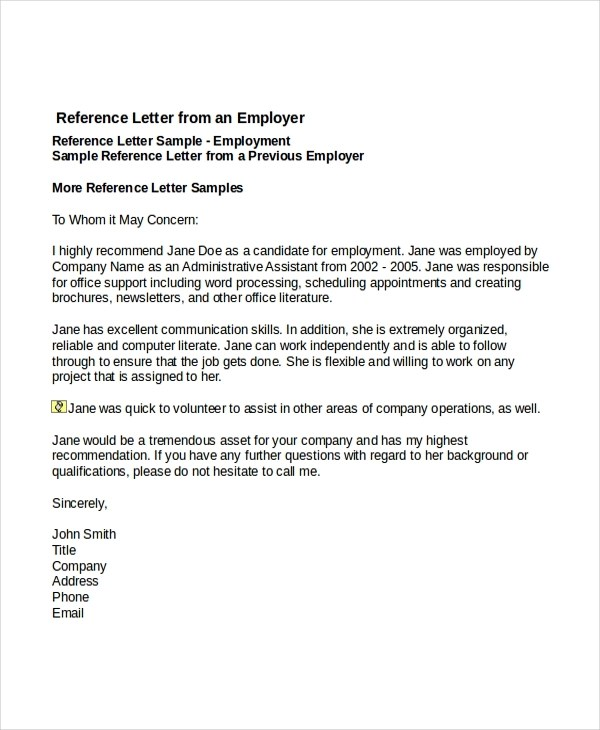 Job Reference Page Example Unique Examples References Resumejob