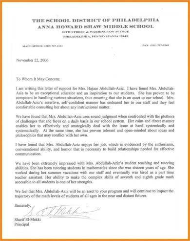 9+ Student Recommendation Letter Examples - PDF Examples