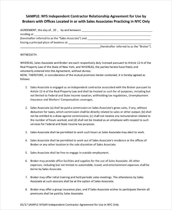 relationship contracts template - Josemulinohouse - relationship agreement template