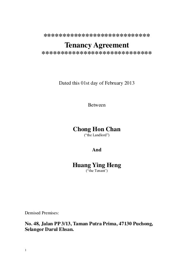 9+ Commercial Tenancy Agreement Examples - PDF
