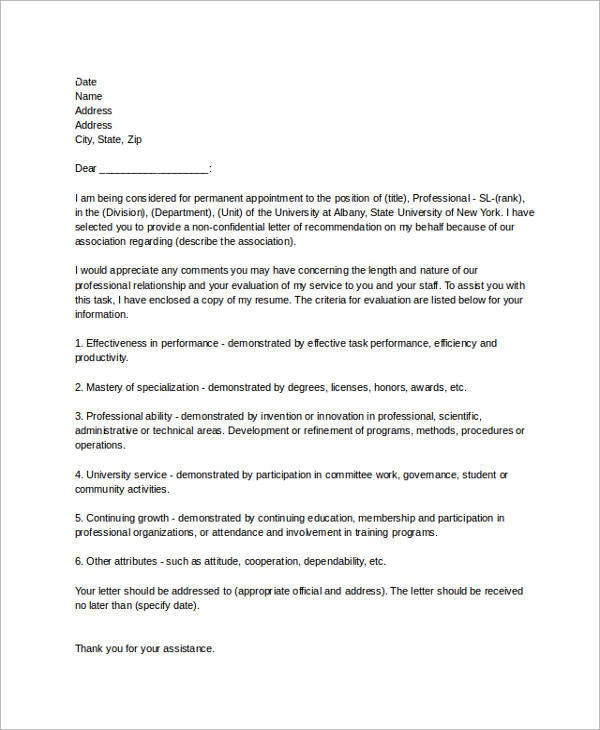 9+ Reference Letter for Employment Examples - PDF Examples