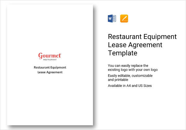 10+ Equipment Lease Agreement Examples - PDF, DOC