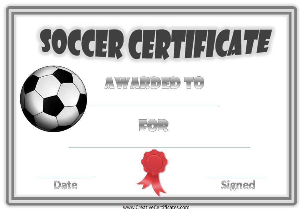 13+ Soccer Award Certificate Examples - PDF, PSD, AI, InDesign