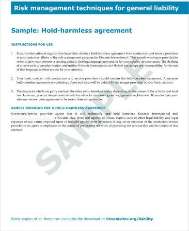 16+ Hold Harmless Agreement Examples - PDF, Word Examples
