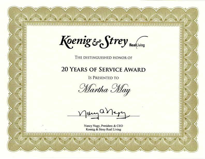 9+ Loyalty Award Certificate Examples -PDF - Example Of Certificate Of Service