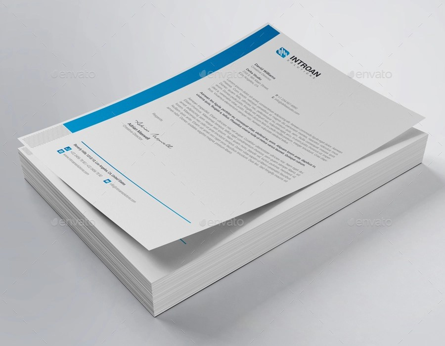 15+ Company Letterhead Designs and Examples - PSD, AI