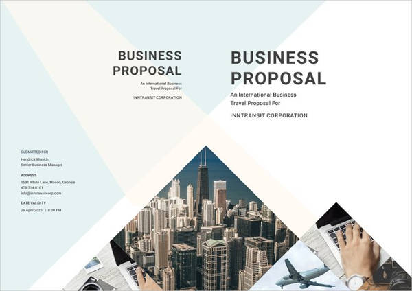10+ Travel Proposal Examples and Samples - PDF, DOC - travel proposal template