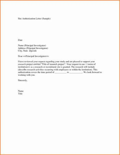 9+ Child Care Authorization Letter Examples - PDF