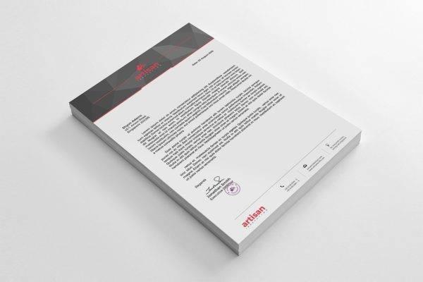 18+ Business Letterhead Designs  Examples - PSD, AI, EPS, DOCX, PDF