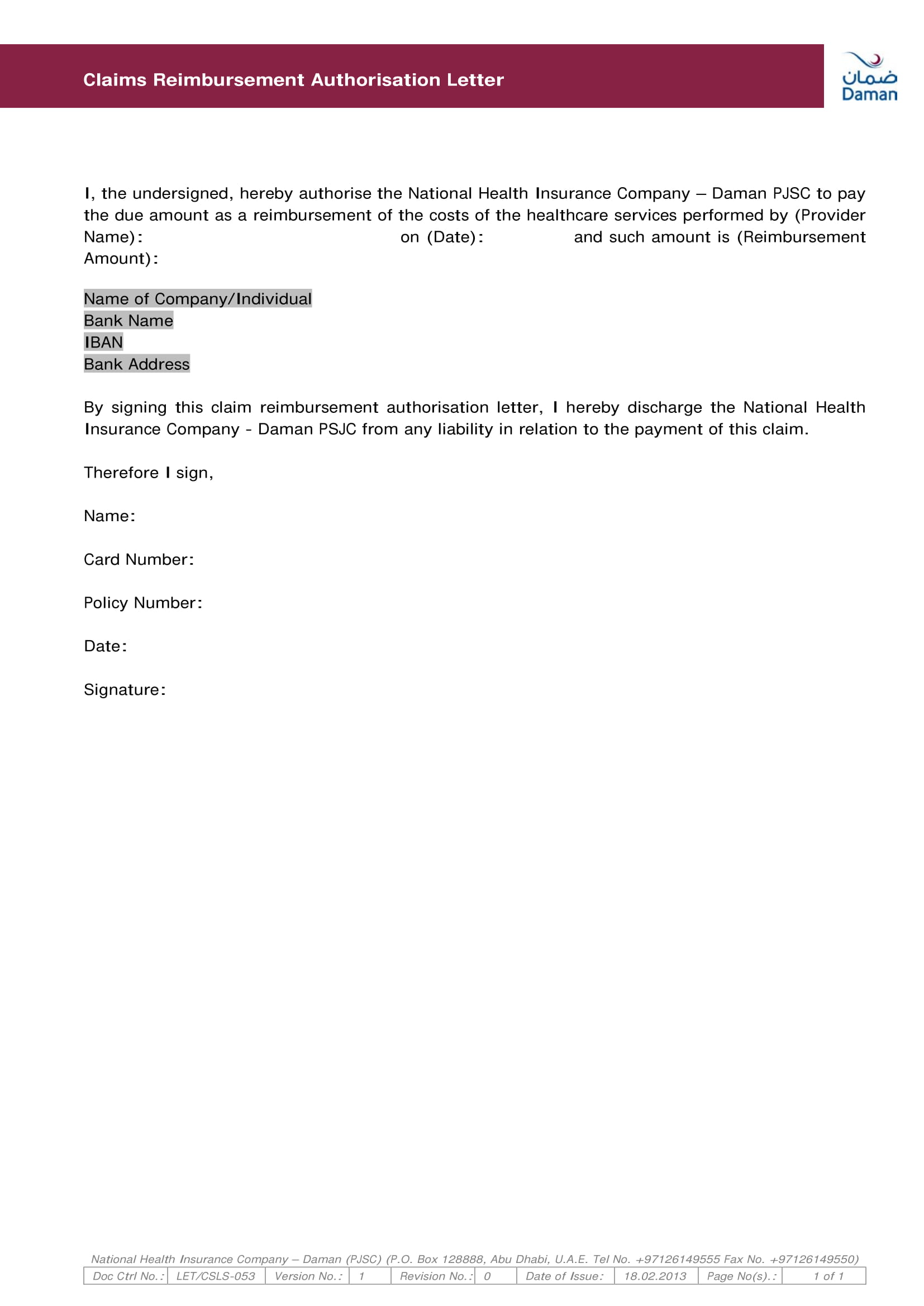hk car accident report template