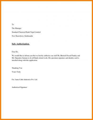 20+ Authorization Letter Format Examples - PDF