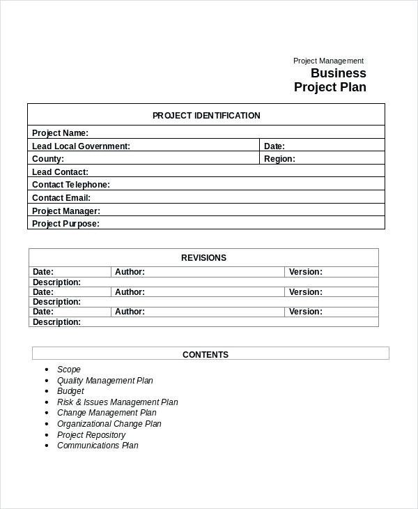 9+ Community Project Plan Examples - PDF Examples