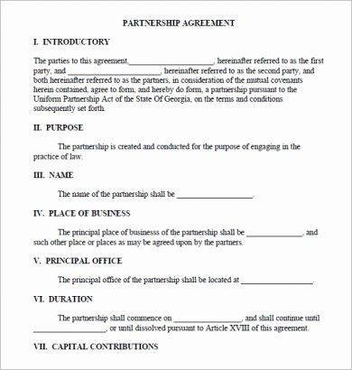 10+ Real Estate Partnership Agreement Examples - PDF, Word
