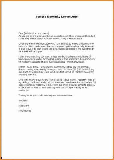 11+ Official Medical Leave Letter Examples - PDF - leave letter samples