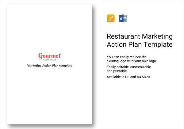 20+ Restaurant Marketing Action Plan Examples - PDF