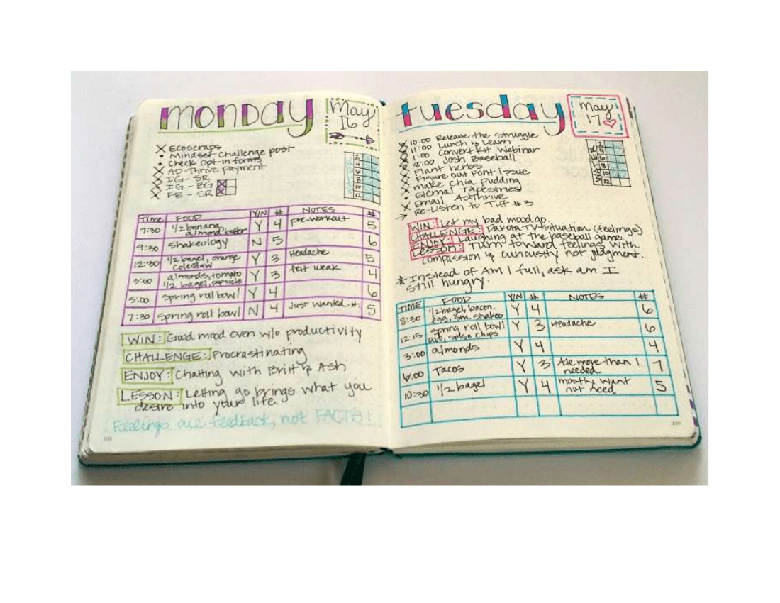 personal journal examples
