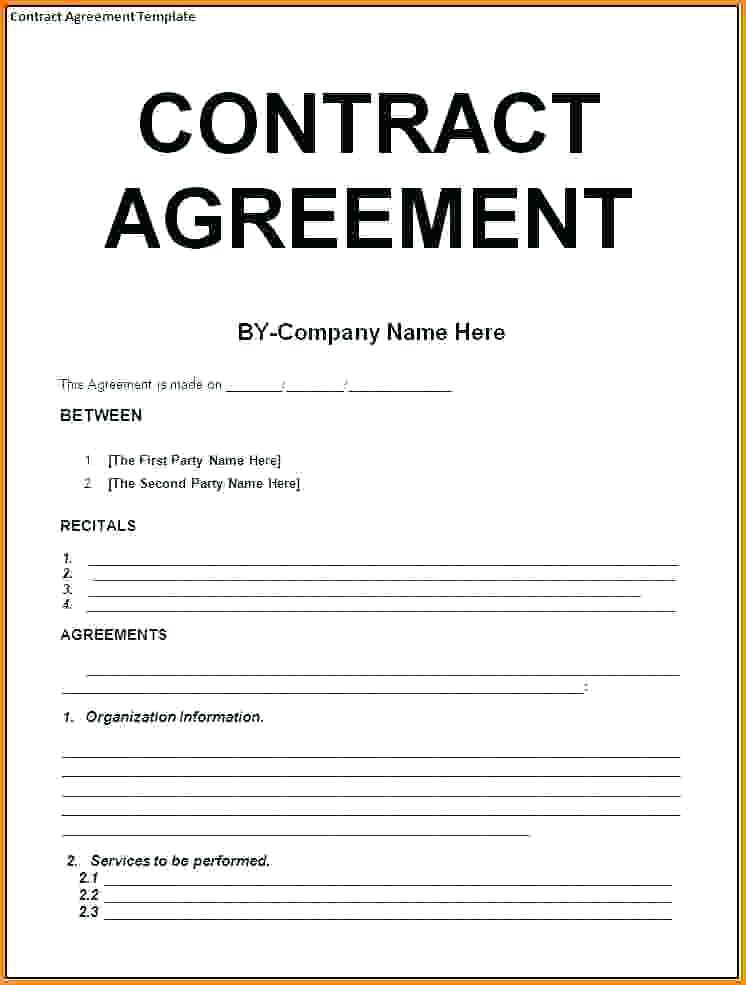 9+ Contract Agreement Letter Examples - PDF