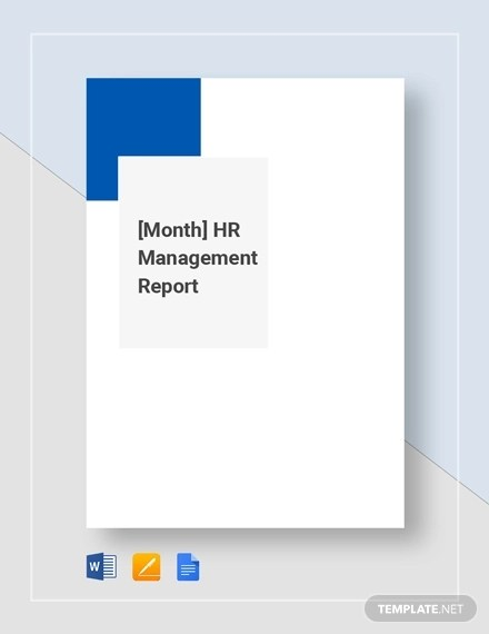 14+ HR Report Examples - PDF, Google Docs, Word, Apple Pages Examples